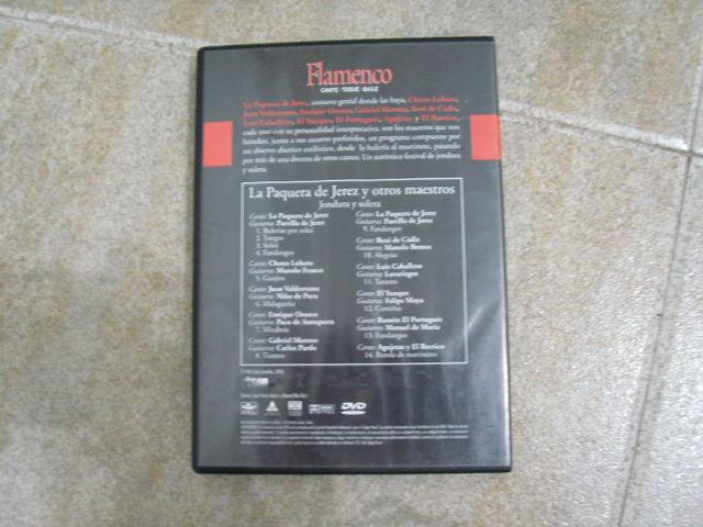LA PAQUERA DE JEREZ Y OTROS MAESTROS DVD - foto 2