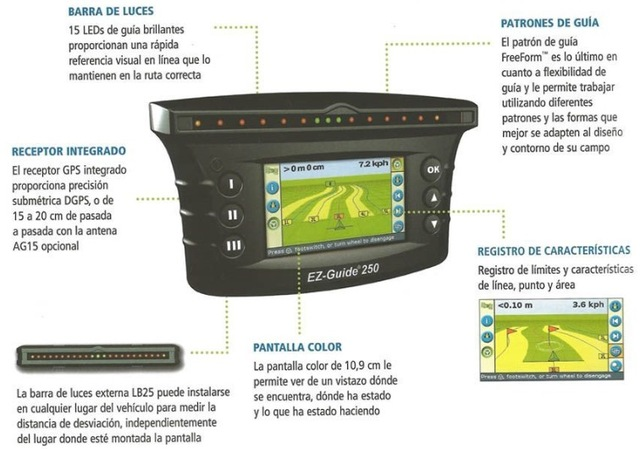 GPS  TRIMBLE EZ GUIDE 250 - foto 2
