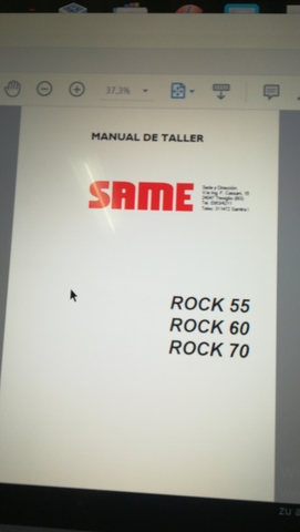 MANUALES TALLER TRACTORES SAME - foto 1