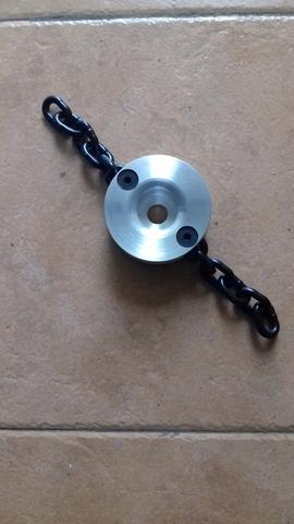 M10 x 1,25 reforzado para desbrozadora cabezal de cadena de metal