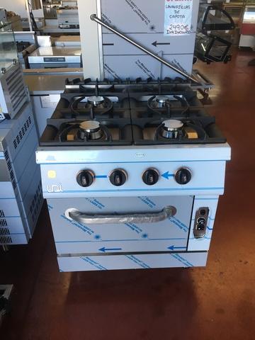 aa3f76fc081 COM - Cocina industrial 4 fuegos. Compra-venta de mobiliario de segunda  mano cocina industrial 4 fuegos en Málaga. Anuncios de mobiliario usado.