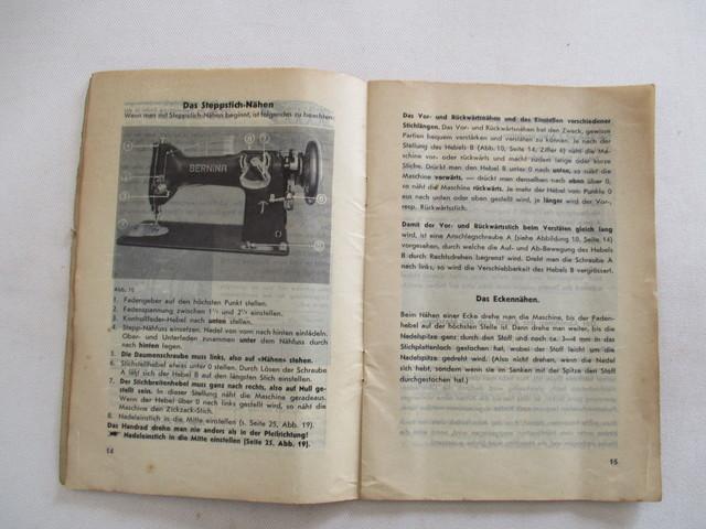 INSTRUCCIONES MAQUINA DE COSER BERNINA.  - foto 5