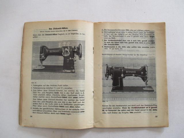 INSTRUCCIONES MAQUINA DE COSER BERNINA.  - foto 7