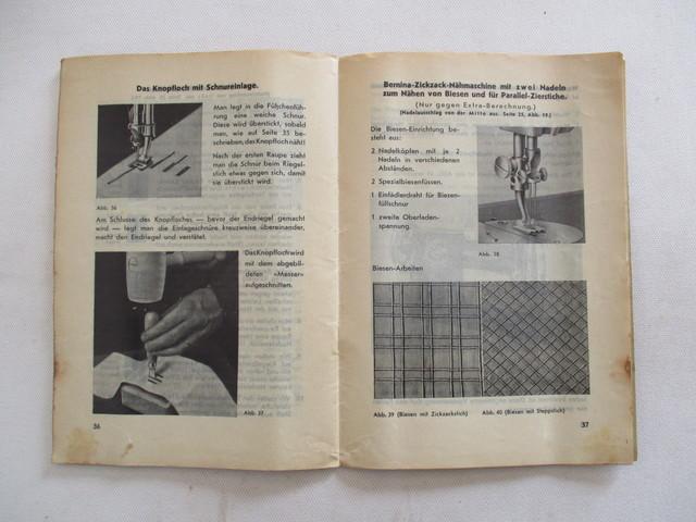 INSTRUCCIONES MAQUINA DE COSER BERNINA.  - foto 8