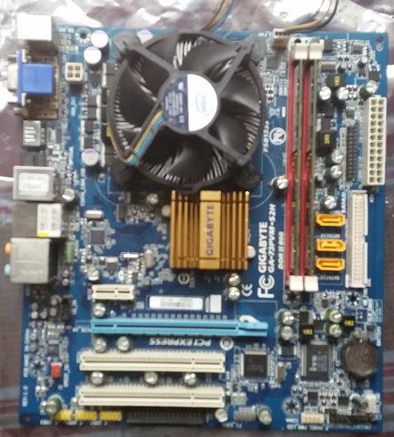 PLACA GIGABYTE  GA-73PVM-S2H 775 HDMI - foto 1