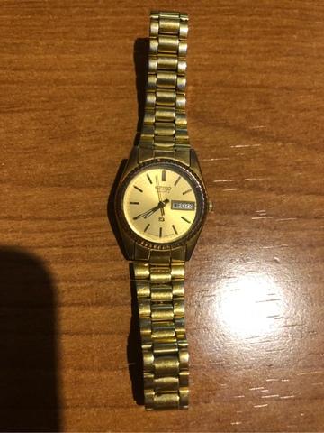 Reloj Seiko Mujer Dorado