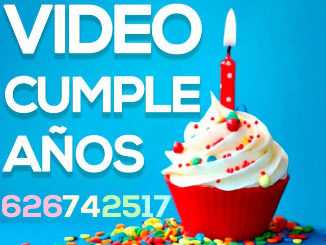 VIDEO PARA CUMPLEAÑOS (EDICIÓN,  MONTAJE) - foto 1