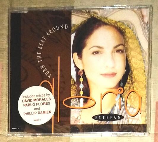 GLORIA ESTEFAN CD SINGLE TURN THE... segunda mano  Tomelloso