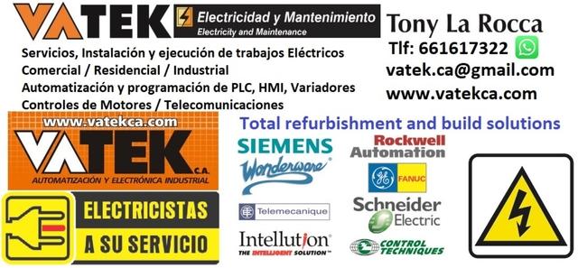 PROYECTOS ELÉCTRICOS Y AUTOMATIZACIÓN - foto 3