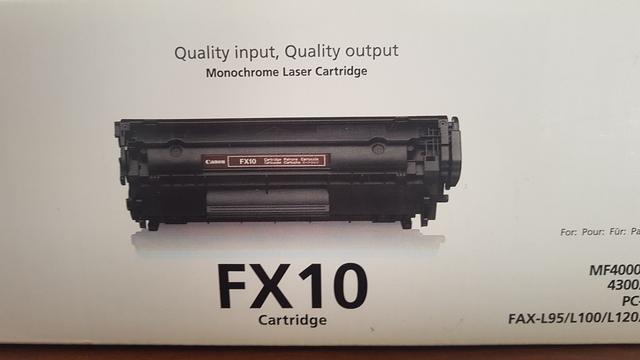 TONER CANON FX10 CARTRIDGE - foto 3