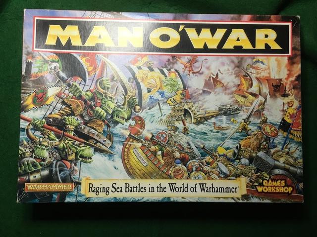 MAN O WAR JUEGO WARHAMMER segunda mano  Murcia