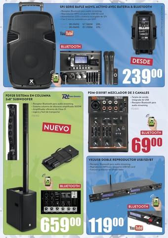 EQUIPOS SONIDO  & AUDIO STOCK-BDN - foto 2