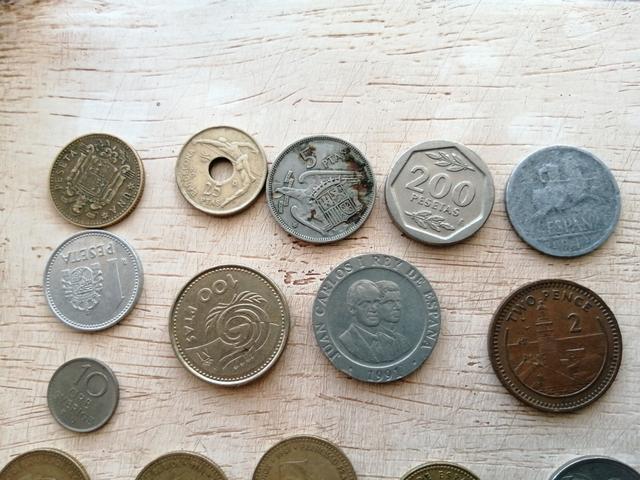 Monedas Antiguas  Sin Clasificar. Lote