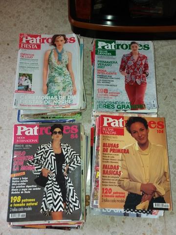 Gran Lote Revistas Patrones