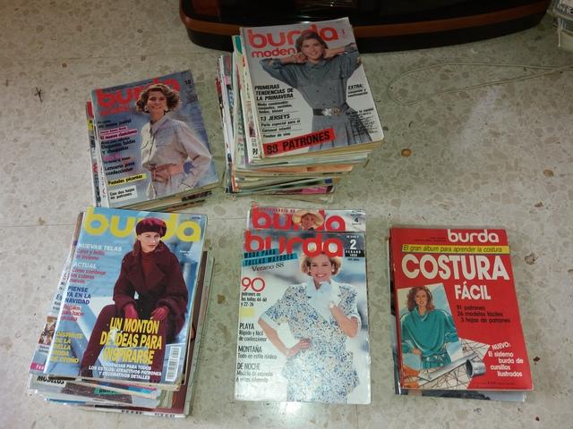 Gran Lote Revistas Burda