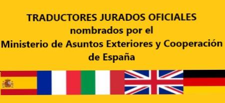TRADUCCIONES JURADAS OFICIALES.  - foto 1