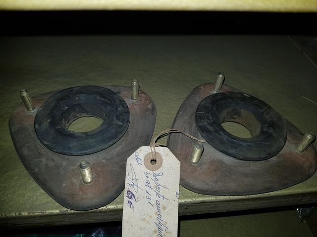 178024 2 AMORTIGUADORES DELANTEROS GAS LIP SEAT 131