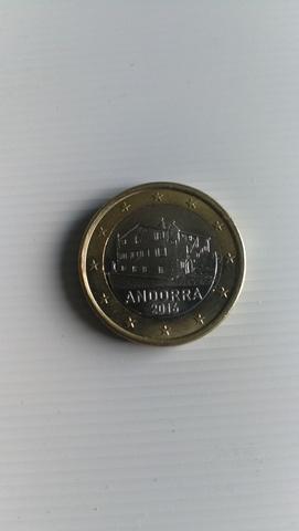 Moneda De 1 Euro De Andorra 2016