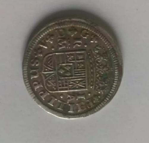 Moneda De Plata Felipe V