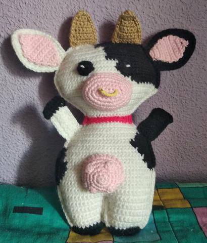 crochet cow amigurumi | http://lomets.com | 480x410