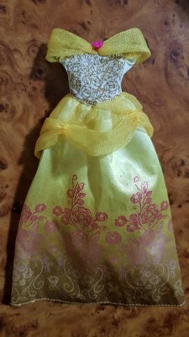 Vestido Princesa Disney Bella Hasbro