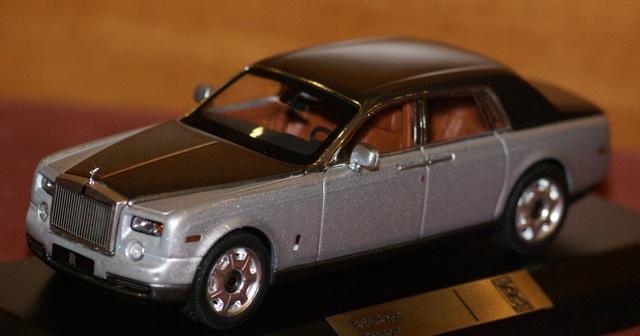 Rolls Royce Phantom Escala 1:43 De Ixo E