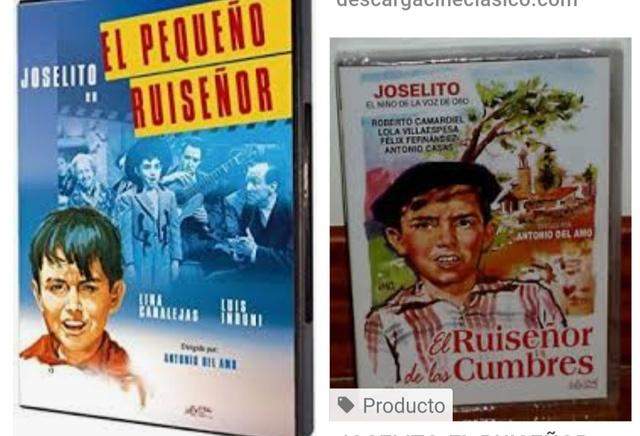 Milanuncios Joselito Películas De Segunda Mano Baratas