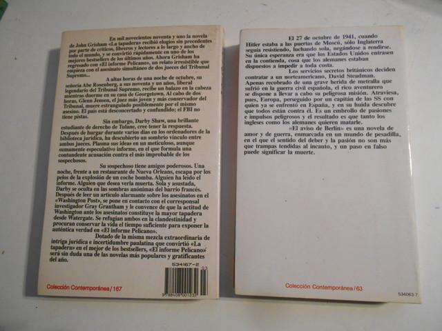 EL INFORME PELÍCANO / EL AVISO DE BERLÍN - foto 2
