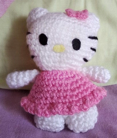 Amazon.com: Hello Kitty Crochet: Supercute Amigurumi Patterns for ... | 480x409