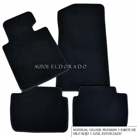 Calidad conjunto de Reforzado Negro//Azul Esteras-Todos Los Protectores De Alfombra Para Citroen
