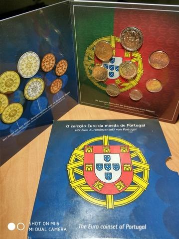Cartera Euros Portugal 2002