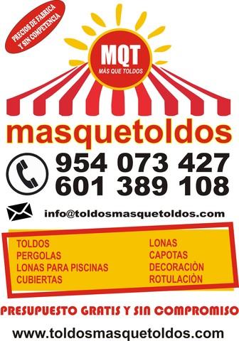 TOLDOS DE BRAZOS INVISIBLES - foto 1