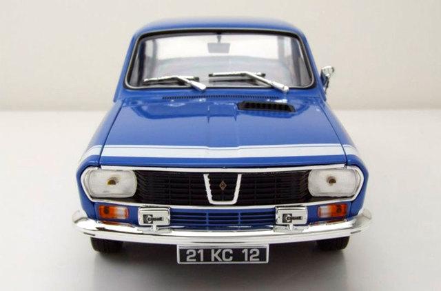 Renault 12 Gordini 1971 azul coche modelo 1:18 norev