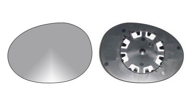 Recambio cristal espejo retrovisor con base derecho Peugeot 107 05=/>