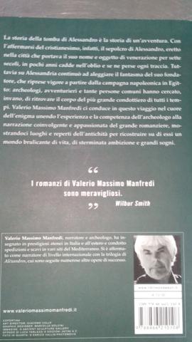 LIBRO LA TOMBA DI ALESSANDRO - foto 2