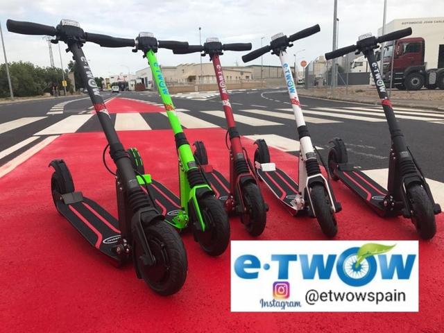 E-TWOW S2 BOOSTER S+ 500W PATINETE ELÉCT segunda mano  Barcelona
