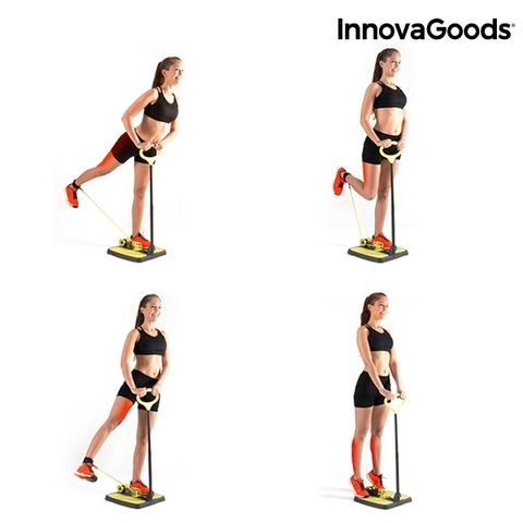 Plataforma de fitness para gluteos y piernas