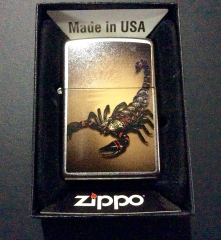 Zippo Escorpion