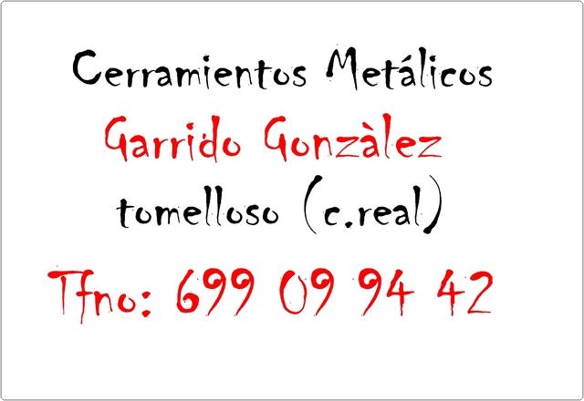 CERRAMIENTOS Y VALLADOS GARRIDO - foto 1