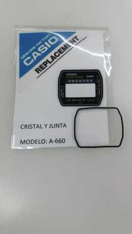 Cristal Reloj Casio  Modelo A-660