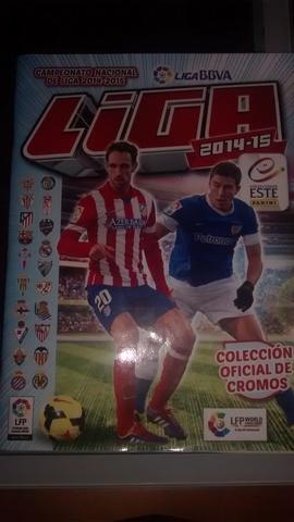 Álbum Completo Liga Este 2014-15