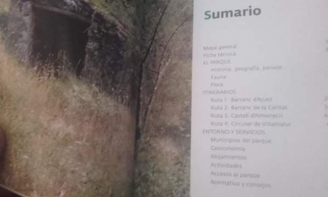 4 GUIAS PARQUES NATURALES C.  VALENCIANA - foto 4