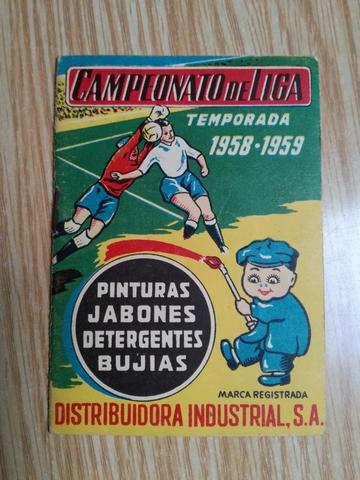 CALENDARIO DE LIGA 1958-1959\NDISA,  - foto 1