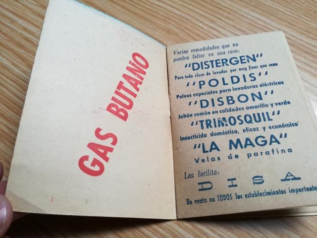 CALENDARIO DE LIGA 1958-1959\NDISA,  - foto 3