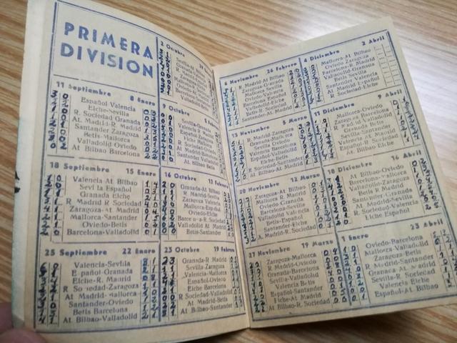 CALENDARIO DE LIGA 1960-1961\NDISA.  - foto 4
