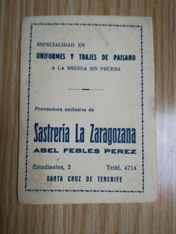 CALENDARIO DE LIGA 1959-1960\NSASTRERIA - foto 2