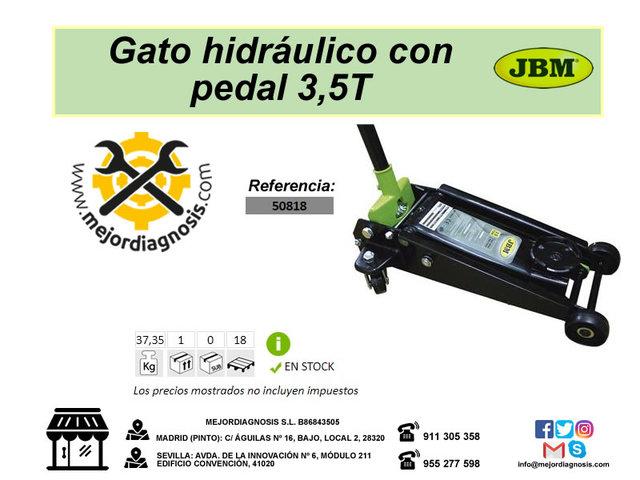 JBM 50818 GATO HIDRÁULICO CARRETILLA 3,5T