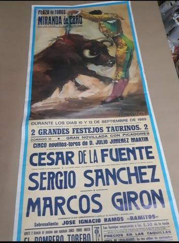 Cartel De Toros De Miranda De Ebro