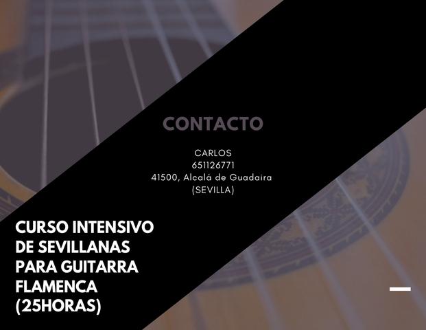 CURSO INTENSIVO DE GUITARRA (SEVILLANAS) - foto 1