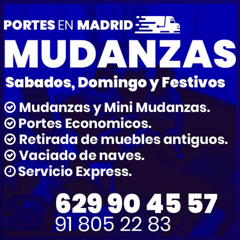 MUDANZAS EN MADRID EMBALAJE Y ELEVADORES - foto 1